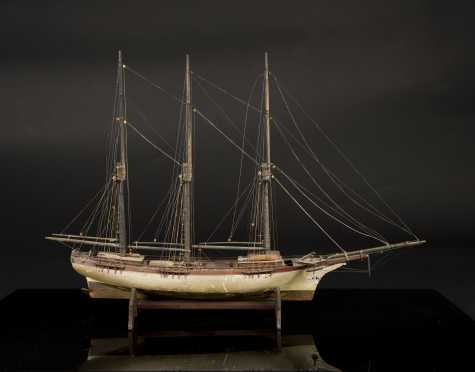 Old English Sailing Ship Model