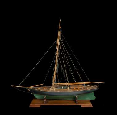 "Sailing Ship Model ""Majesty"", South Hampton, England"