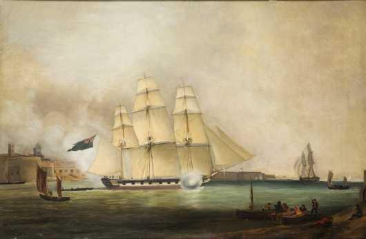 Augustus Frederich Shaine, England (1820-1840) Attributed