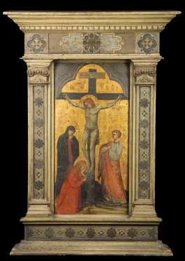 Italo-Byzantine Crucifixion Painting