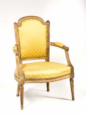 French Louis XVI Armchair *AVAILABLE FOR REASONABLE OFFERS*