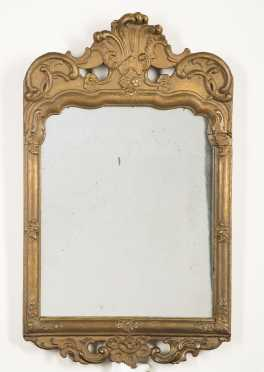 18thC Italian Gilded Mirror