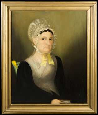 School of Zedekiah Belknap, New England (1781-1858) Primitive Painting