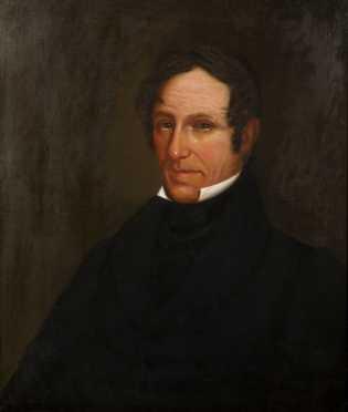 19thC American Portrait of a Gentleman
