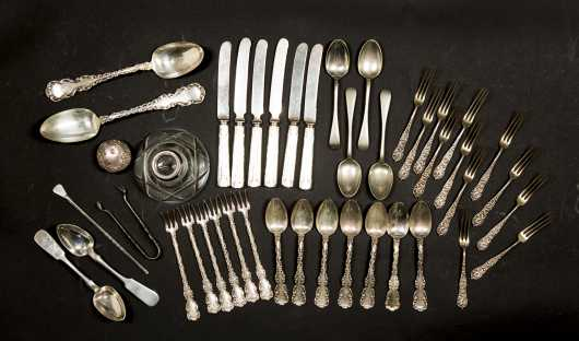 Lot of Miscellaneous Sterling and Coin Silver