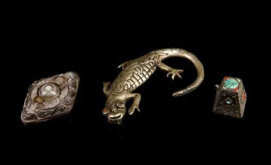 Three Tibetan Adornments