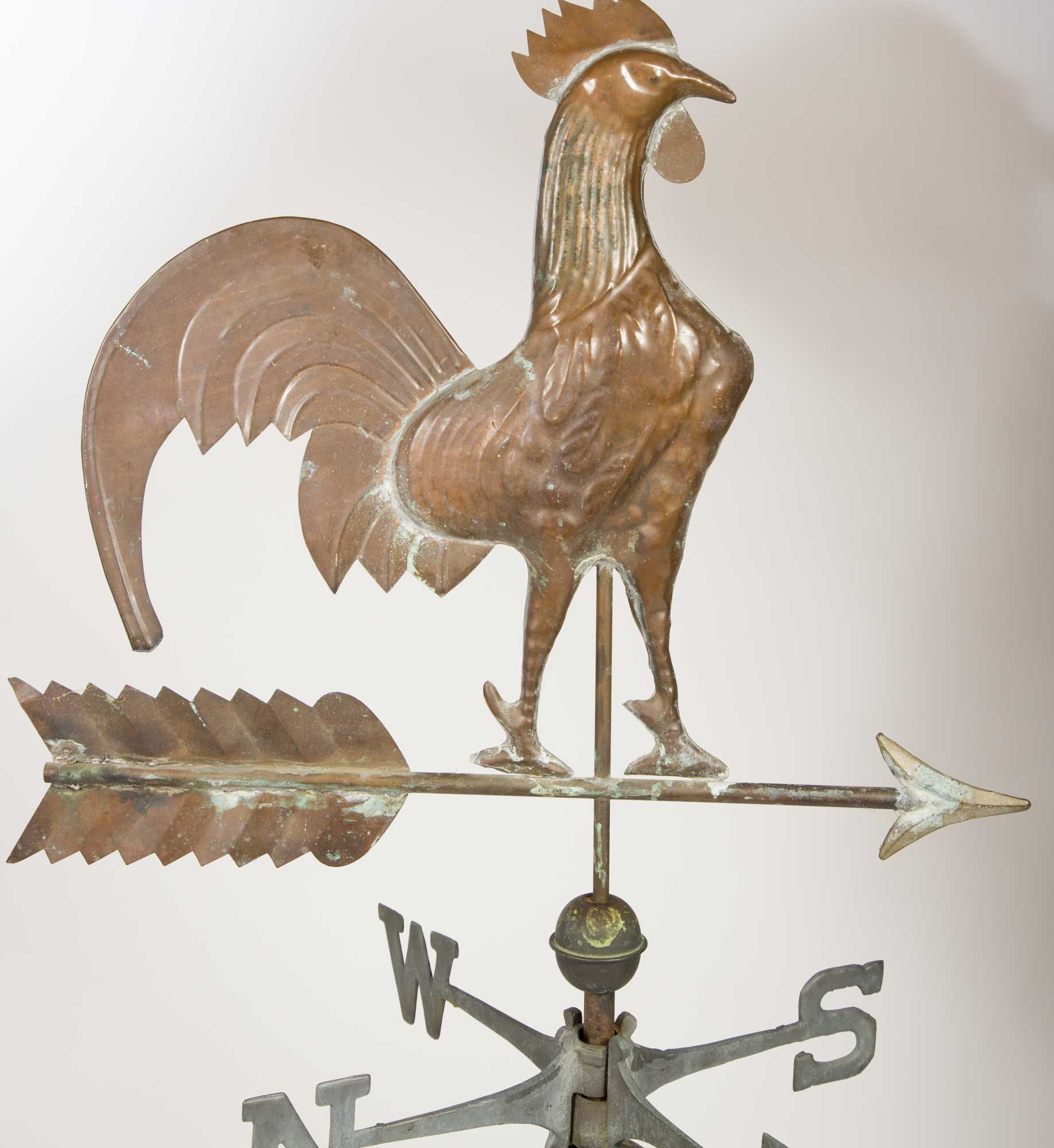 Antique Rooster Weathervane: Rooster Weathervane