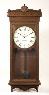 Oak Seth Thomas Gallery Clock