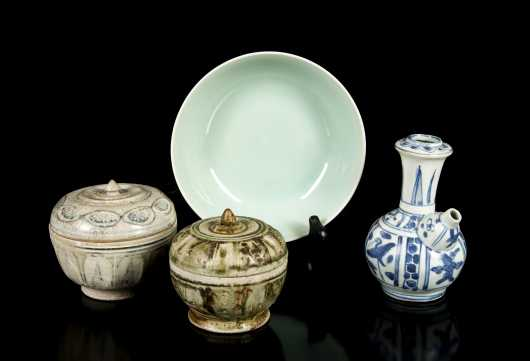 Early Chinese Porcelain and Pottery Lot