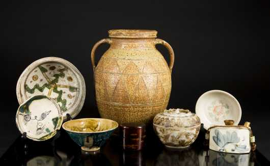Large Lot of Early Chinese Pottery and Miscellaneous