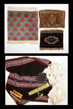 Miscellaneous Lot of Tibetan and Other Textiles