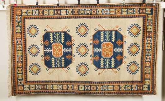 Modern Caucasian Style Oriental Rug