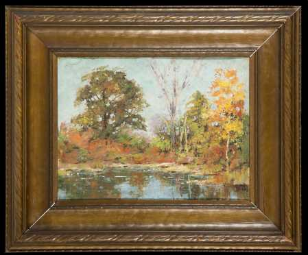 20thC American Landscape Painting