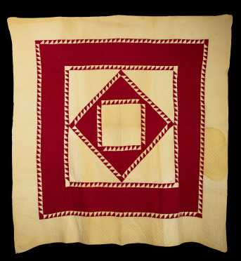 """""""Flying Geese"""" Quilt"""