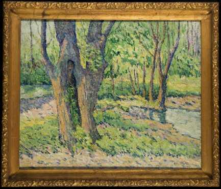 Edna Wuhl (New York, 20thC) Impressionist Landscape,