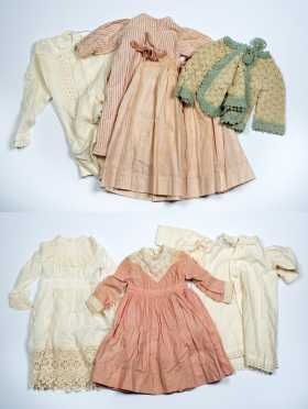 Seven Pieces of Dolls Clothing