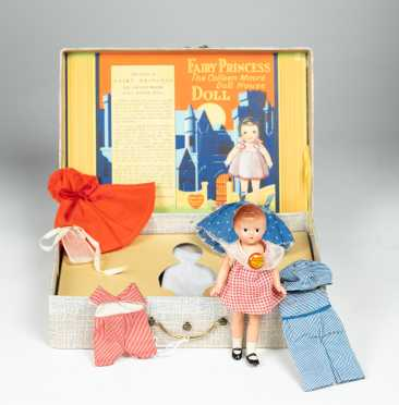 "6"" EFFANBEE WEE PATSY All Composition Doll"