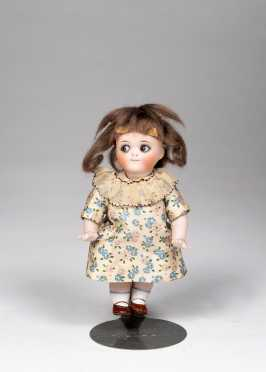 "6"" German All Bisque Googly Doll"