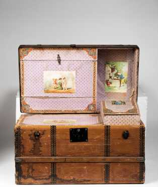 Doll's Dome Top Trunk