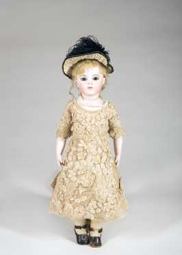 "20"" French Bru Jne Doll"