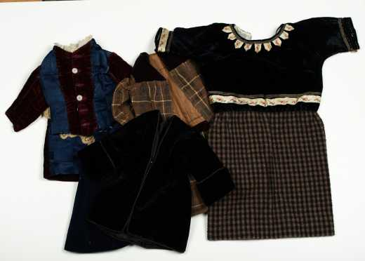 Seven Pieces Doll Clothing