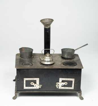 Doll's Tin Stove