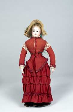 "15 1/2"" (Size) 2 FG French Fashion Doll by Francois Gaultier,"