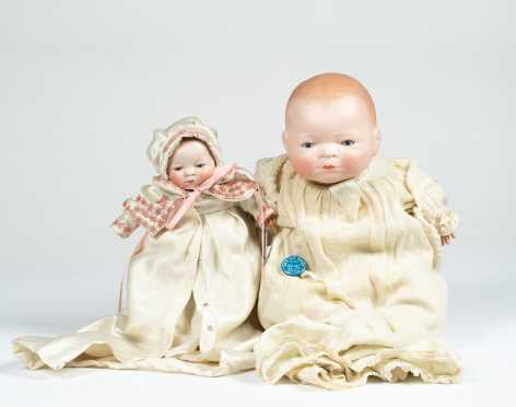 Pair of Bye Lo Dolls