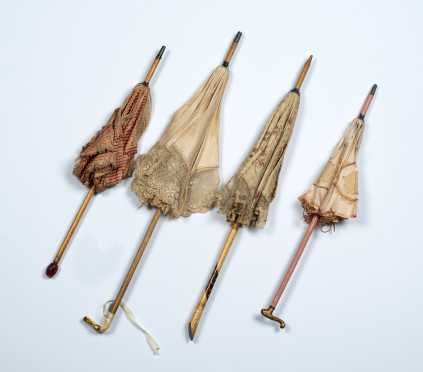 Four Doll's Parasols