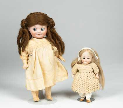 Lot of Two Dolls
