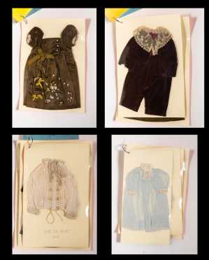 Four Small Doll's Clothes