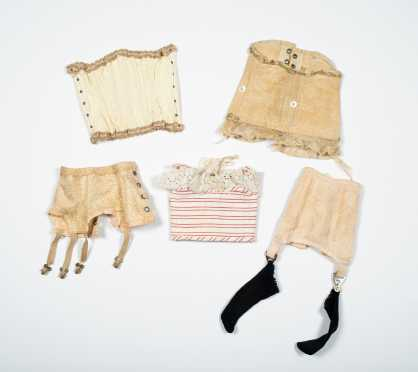 Five Doll's Corsets