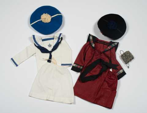 Two 3-Piece Sets of New Doll Clothing