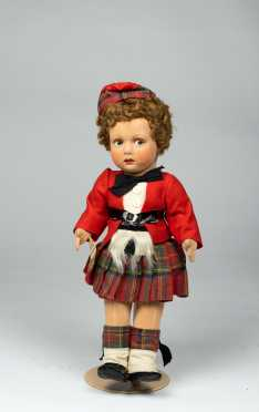 "15"" English Cloth Doll"