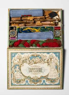 French Boxed Toy Set of Tapestry