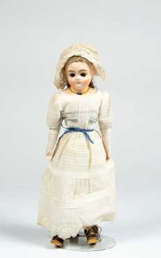 "15"" German Composition Shoulder Head Doll"