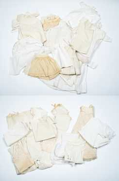 Large Lot of Doll's Undergarments