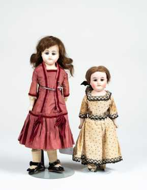 Lot of Two German Dolls