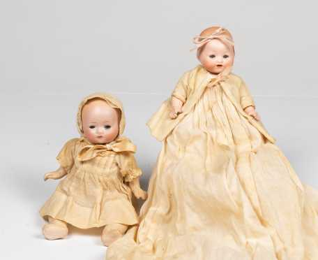 Lot of Two Small Baby Dolls