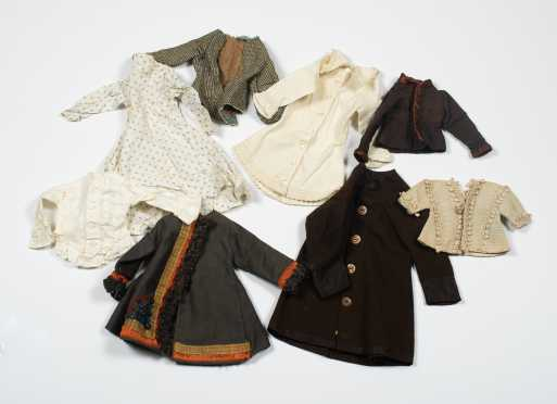 Eight Pieces of Doll's Clothing