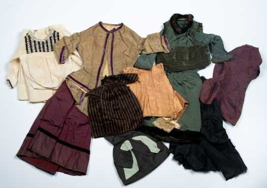 Twelve Pieces of Doll's Clothing