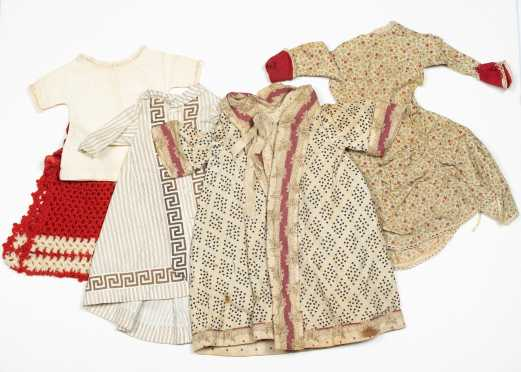 Five Items of Doll's Clothing