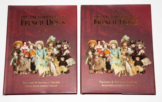 Two French Doll Books