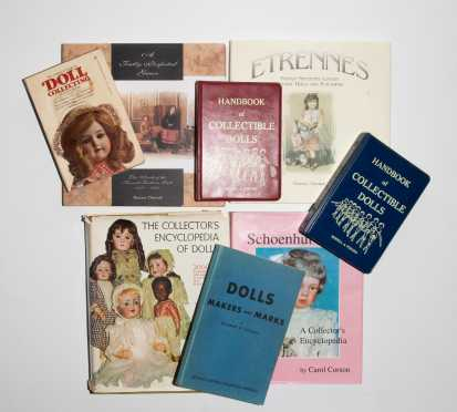 Lot of Eight Doll Books