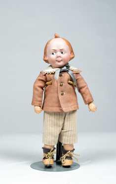 "12"" German Character Moritz Doll 32-4"