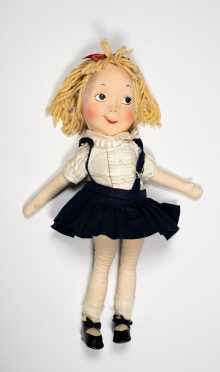 "22"" Eloise All Cloth Doll by American Character Doll Corp. Brooklyn NY"