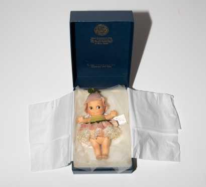 "7"" Felt R. John Wright Kewpie Doll"