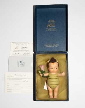 "7"" R. John Wright Kewpie Bug Doll"