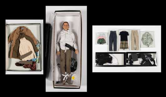 Lot of Tonner Matt O'Neill Doll and Clothing Collection