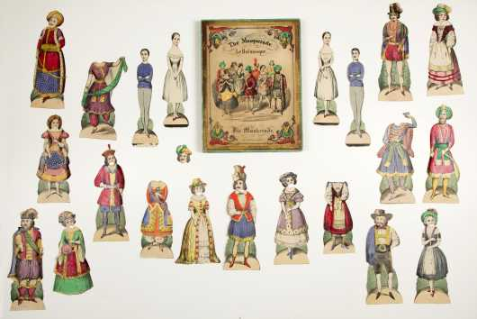 """The Masquerade"" Paper Dolls Boxed Set"